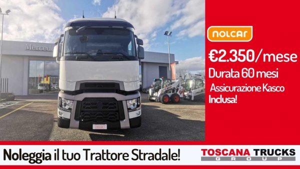 noleggio lungo termine trattore stradale Renault Trucks