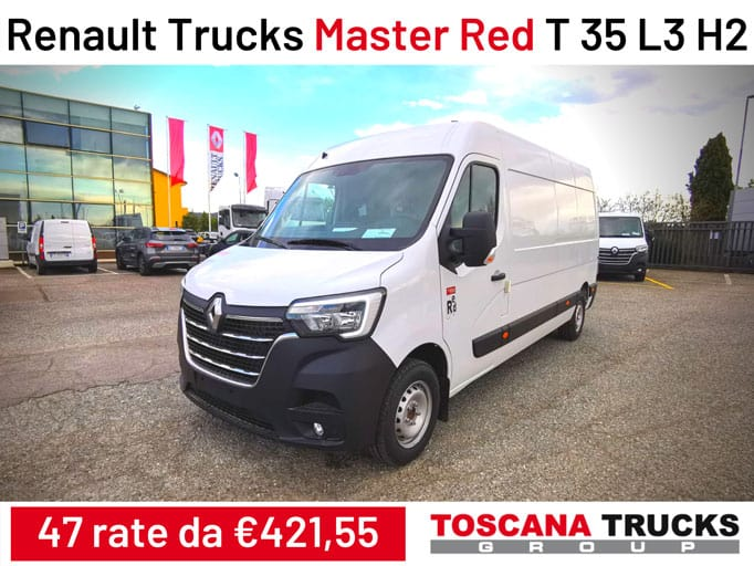 Promo Renault Trucks Master Red T35
